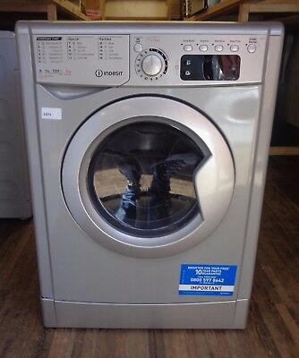 Indesit EWDE7125S My Time Free Standing 7Kg Washer Dryer Silver New (1404)