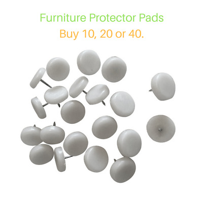 Plastic Protector Pads For Table/Chair Feet & Other Furniture - Buy 10,20 or 40