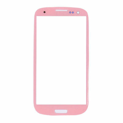 Pink New Replacement Outer Screen Glass Lens Samsung Galaxy SIII S3 i9300