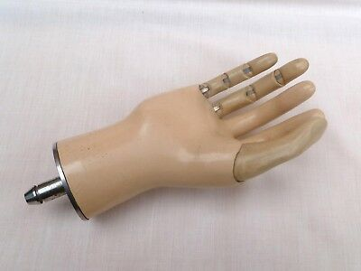 Antique Vintage Medical Articulated Prosthetic Hand
