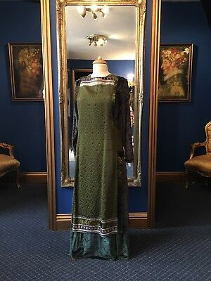Stunning Medieval Style Theatrical Dress, Fantastic Detailing & Fabric,Top Item
