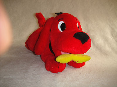 Clifford The Big Red Dog  Plush Soft Toy - Electronic / Talking Scholastic