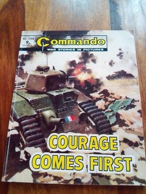 Commando war stories in pictures No 1266 Courage Comes First