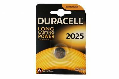 PILA BATTERIA DURACELL CR 2025 A BOTTONE LITIO DL2025 BR2025 3v LITHIUM TONDA