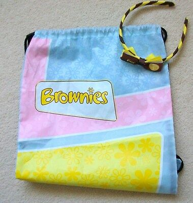 1 Brownies Adventure Drawstring Bag Plus Brownies Headband