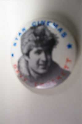 Rare Star Cinema  Davy Crockett Disney Film  Promotion 1955 Badge Fess Parker