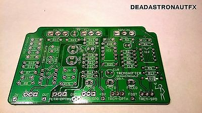 Build your own guitar effects pedal  'TREMSHIFTER' PCB (Deadastronautfx)