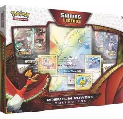 Pokemon TCG: Shining Legends Premium Powers Collection In Stock Brand New