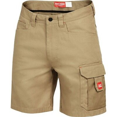 Hard Yakka Legends Y05066 Cargo Shorts - Mens, Kha, 107R