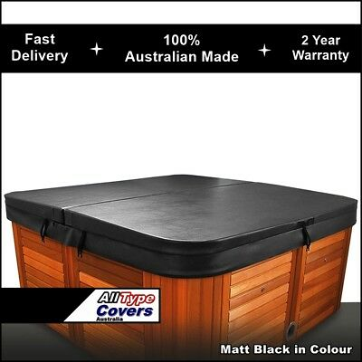 Australian Made Lockable Hard (2045 x 2045-240 Radius) Spa Cover 2 Year Warranty