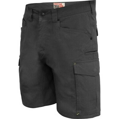 Hard Yakka 3056 Shorts - Mens, Charcoal, 97R