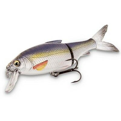 Savage 3D Roach Lipster Swimbait Lure - 13cm, Dirty Silver Mullet, 26g