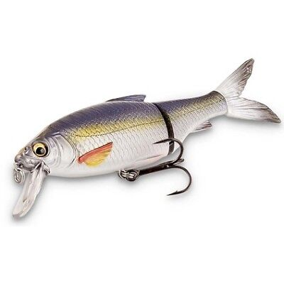 Savage 3D Roach Lipster Swimbait Lure - 18.2cm, Dirty Silver Mullet, 67g