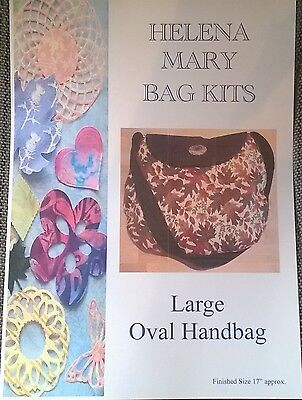 Helena Mary Bag Making Kit Complete Kit - Large Oval Handbag