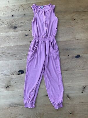 Tu Girls Summer Jumpsuit Pink - Age 5 Years