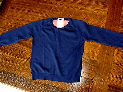 Zara boys blue knit jumper size 3-4