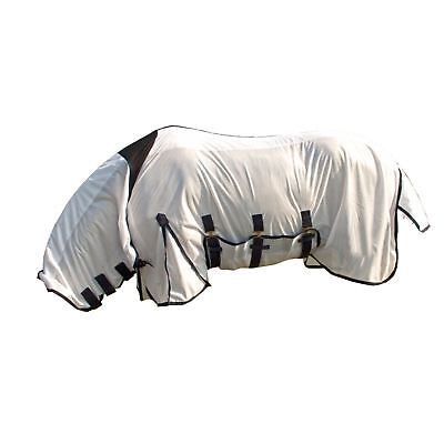 White Horse Equestrian Combo Ice Sheet Summer Field Outdoor Comfortable Fly Rug