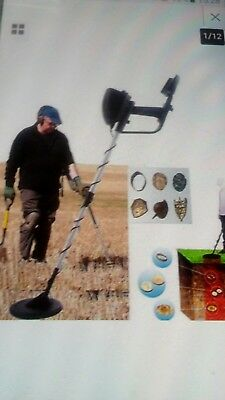 """Visua Discriminating Metal Detector with Pinpoint function 6.5"""" MD-4030"""