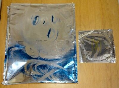 Madonna Sex Book, Including Silver Foil Sleeve & Unopened Erotica Cd
