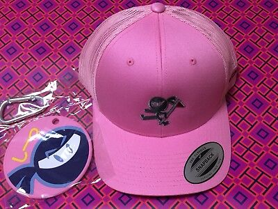 Scotty Cameron PINK WASABI WARRIOR CAP AND PUTTING DISC COMBO New !