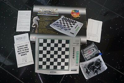 Spectrum 4-in-1 Mindsport Computer - Chess Draughts Reversi - USED ONCE!