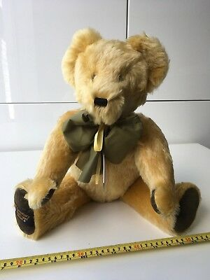 Canterbury  bears Collector mohair large size  bear  NEW OLD STOCK