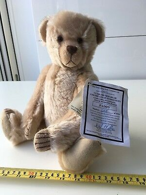 Deans limited edition Paddy  mohair bear NEW OLD STOCK  ltd 1000 worldwide