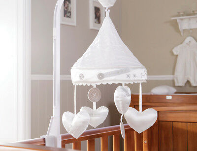 New! Silver Cross Handmade With Love Luxury Cotbed/Cot Mobile