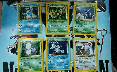 Pokemon 1st edition Neo Genesis near full Complete Set 93/111 NM