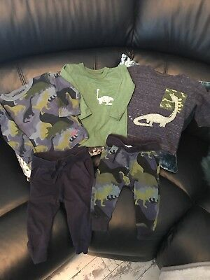 Next Boys T Shirt and joggers sets/ hats 6-9 months