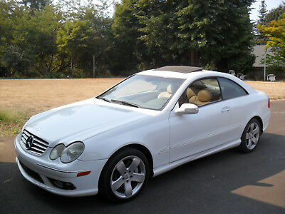 2003 Mercedes-Benz 500-Series  2003 clk500 coupe large v 8 all power options