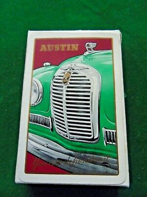 Old Garage Vintage Car Austin Pack of Playing Cards