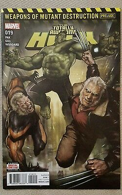 1st print! Totally Awesome Hulk #19 9.6 to 9.8 Weapons of Mutant Destruction CGC