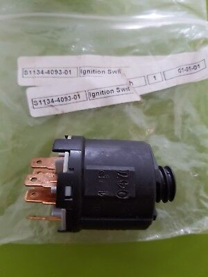 Stiga Ignition Switch part Number S1134-4093-01