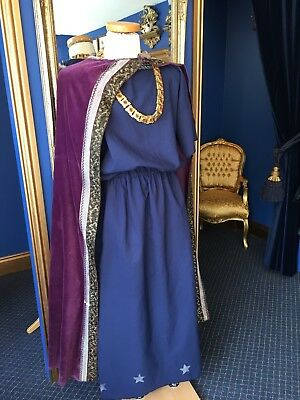 """Stunning English National Opera Medieval Style Cloak From """" King Roger"""""""