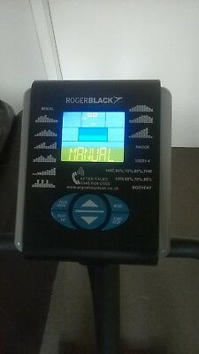 Roger Black Gold Magnetic Exercise Bike- excellent condition