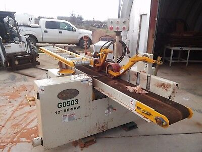 "G0503 Grizzly 12"" Horizontal Resaw Bandsaw (very lightly used)"