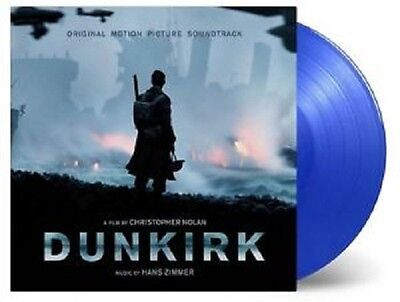 DUNKIRK ~ ORIGINAL SOUNDTRACK ~ 180gsm LTD. ED. NUMBERED BLUE 2 x VINYL LP ~ NEW