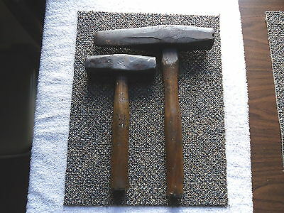 """Vintage Set Of 2 Railroad Hammers """" AWESOME COLLECTABLE SET """""""
