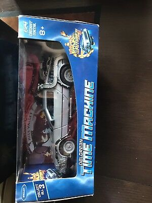 Back to the Future II Diecast DeLorean Car Time Machine 1:24