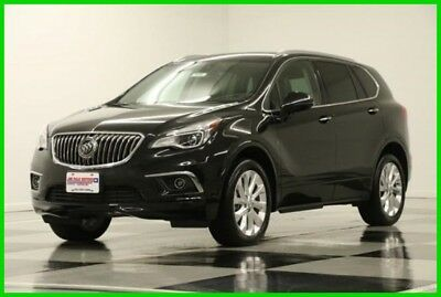 2017 Buick Envision Premium II AWD Heated Cooled Leather Sunroof  Came 2017 Premium II AWD Heated Cooled Leather Sunroof  Came New Turbo 2L I4 16V AWD