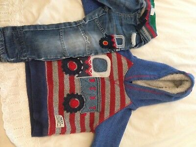 Next Boys Jeans And Hoodie Ages 2-3 Years