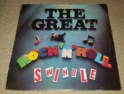 Sex Pistols The Great Rock N Roll Swindle Uk Double Vinyl Lp 1979 Virgin Vd2510