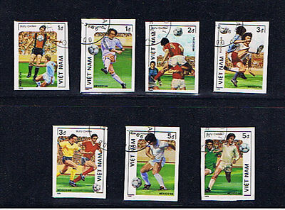Vietnam 1986 World Cup Set Imperforate