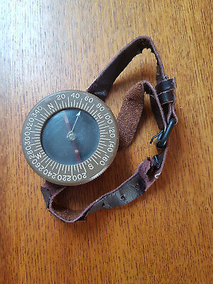 WWII US Airborne wrist compass WW2 US Airborne compass found in Normandy D-Day