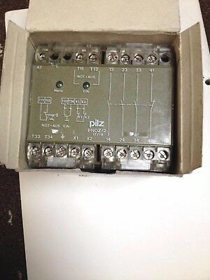 PILZ Safety Relay PNOZ-2  230v ac