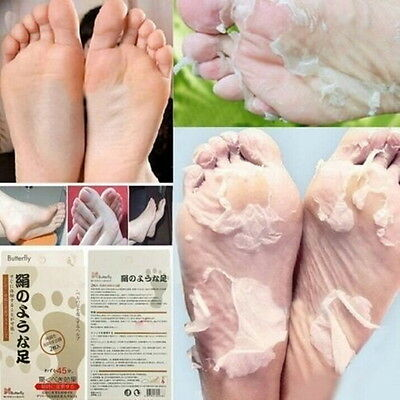 2PCs Baby Foot Original Deep Exfoliation Feet Peel Socks Peeling Mask Kit Skin