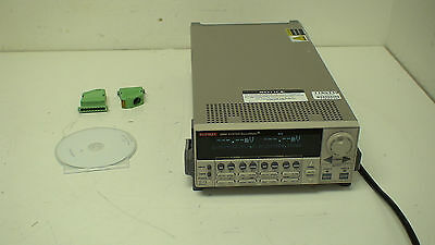 Keithley 2602 Dual-Channel System SourceMeter: 40.4 W / Ch. w/accessories