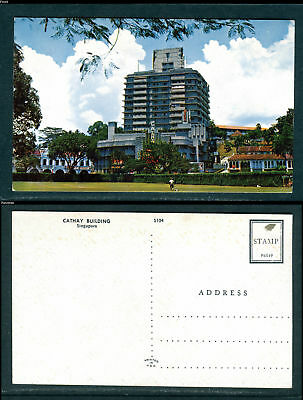 Cathy Building Singapore. Uncirculated/Unused