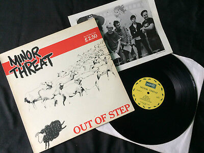 "Minor Threat - Out Of Step 12""  UK 1983 VG+/VG+"